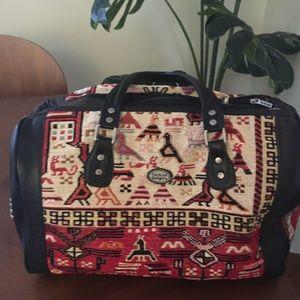 Turkish Delight Kilim shoulder bag, boho, carpet
